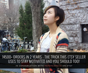 14500+ ORDERS IN 2 YEARS – THE TRICK THIS ETSY SELLER USES TO STAY MOTIVATED AND YOU SHOULD TOO!