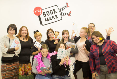 Team Behind Etsy Shop MyBookmark