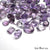 100Cts Big Size Wholesale Amethyst Mix Shape 20-10mm Loose Gemstones - GemMartUSA