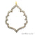 'Chandeliers' CZ Pave Gold Vermeil Charm for Bracelet & Pendants
