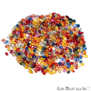 5 Carat Multi Sapphire Mix Shape Wholesale Loose Gemstones
