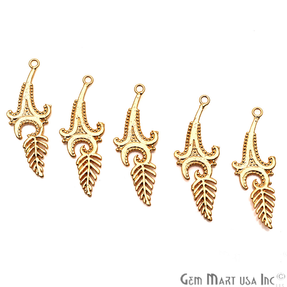 Findings Charm, Filigree Findings, Findings, Jewelry Findings, 47x17mm (50057)