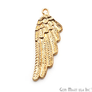 Angel Wings Charm 42x15mm Finding Connector (Pick Your Metal) - GemMartUSA