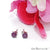 Ruby 5mm Sterling Silver Round Shape Prong Setting Stud Earring