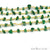 Aventurine Nugget Chip Gold Wire Wrapped Beads Rosary Chain