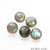 5pc Lot Labradorite Natural Gemstone 8mm Rondelle Beads