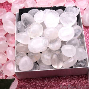 3.53oz Lot Crystal Tumbled, Reiki Healing, Beach Stone, Wiccan Stone