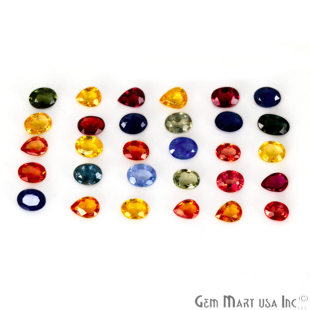 Wholesale Multi Sapphire Mix Shape Loose Gemstones (Pick Your Carat)