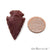 5pc Lot Arrowhead Cut Gemstones, 35x19mm Handcrafted Stone, Loose Gemstone, DIY Pendant, DIY Jewelry