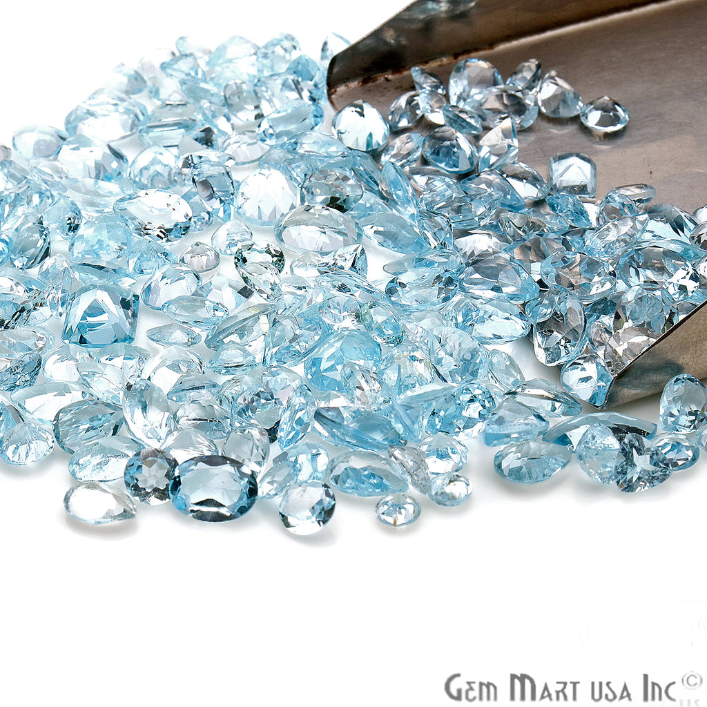 Wholesale Blue Topaz Mix Shape Loose Gemstones (Pick Your Carat)