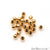 5pc Lot Bead Finding 4mm Round Ball Jewelry Making Charm (Pick Your Plating) - GemMartUSA