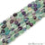 Fluorite 9x5mm Tumble Rondelle Beads Strands 14Inch
