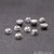 10pc Lot Bead Finding 5mm Semi Round Ball Jewelry Making Charm (Pick Your Plating) - GemMartUSA