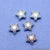 5pc Lot Star Shape Oxidized 10x9mm Charm For Bracelets & Pendants - GemMartUSA