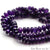 5pc Lot Amethyst Faceted Round Shape 8-9mm Gemstone Rondelle Beads