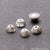 5pc Lot Bead Finding 6mm Semi Round Ball Jewelry Making Charm (Pick Your Plating) - GemMartUSA