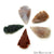 5pc Lot Arrowhead Cut Gemstones, 34x18mm Handcrafted Stone, Loose Gemstone, DIY Pendant, DIY Jewelry