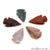 5pc Lot Arrowhead Cut Gemstones, 33x20mm Handcrafted Stone, Loose Gemstone, DIY Pendant, DIY Jewelry