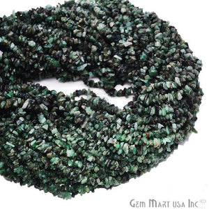 Natural Ruby Zoisite Chip Beads Strand-, Semi Precious, Gemstone Chips, Gemstone Beads (CHRZ-70001)