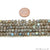 Labradorite 4-5mm Cube Gemstone Beads Strands 10.5''