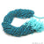 Chrysocolla 3-4mm Gemstone Faceted Rondelle Beads Strand 13