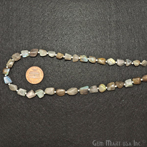labradorite tumble beads