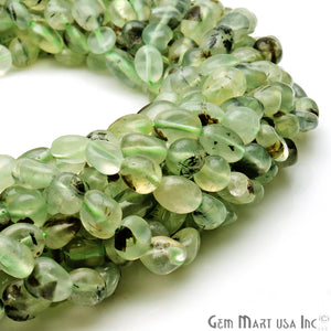 Prehnite 9x5mm Tumble Rondelle Beads Strands 14Inch
