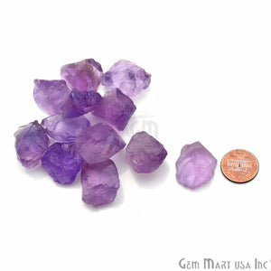 3.53oz Lot Amethyst Loose Rough Tiny Birth Gemstone