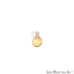 Pears Shape 11x6mm Gold Plated Finding Charm, DIY Jewelry - GemMartUSA