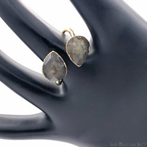 labradorite gemstone gold ring