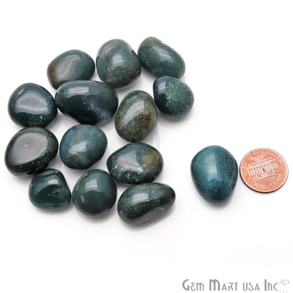 3.53oz Lot Green Aventurine Tumbled Reiki Healing Metaphysical Beach Spiritual Gemstone
