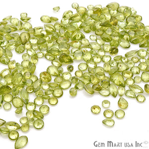 Peridot Mix Shape Wholesale Loose Gemstones (Pick Your Carat) - GemMartUSA