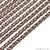 Copper Vintage Link Chain, 4mm Copper Vintage Finding Chain