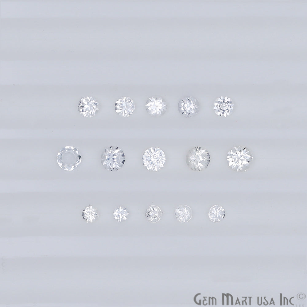 Wholesale White Sapphire Mix Size Loose Gemstones (Pick Your Carat)