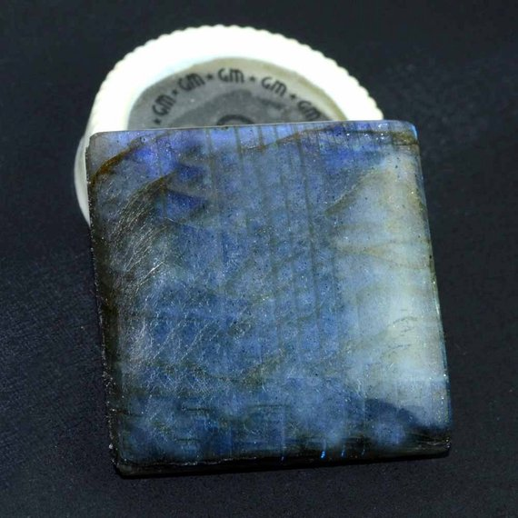 AAAmazing Labradorite 32mm Stunning Blue Fire Gem Cabochon