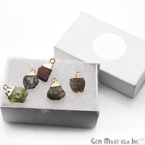 DIY Multi Tourmaline Gold Pendant & Bracelets Charm Connector