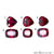Rhodolite Garnet, Garnet Gemstone, Loose Gemstone, January Birthstones (RH-0107-0112)