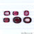 Rhodolite Garnet, Cushion & Oval Gemstone, Loose Gemstone, January Birthstones (RH-0013-0018) - GemMartUSA
