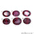 Rhodolite Garnet, Garnet Gemstone, Loose Gemstone, January Birthstones (RH-0167-0172) - GemMartUSA