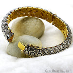 Victorian Estate Bangle, 530 cts Sliced Diamond, With 962 cts of Diamond as Accent Stone (DR-12170)