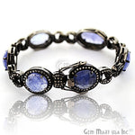 Victorian Estate Bracelet, 19.73 cts Sapphire, With 18.5 cts of Diamond as Accent Stone (DR-12182)