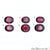 Rhodolite Garnet, Oval Gemstone, Loose Gemstone, January Birthstones (RH-0001-0006) - GemMartUSA