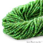 1 Strand AAA Chrysoprase Micro Faceted Rondel 3-4mm 14Inch Length Amazing quality 100 Percent Natural (RLCP-70005)