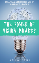 Load image into Gallery viewer, An e-book that goes in-depth into just how powerful vision boards are and the reason why they work, how to create an actionable vision board, manifesting your vision board goals and the importance of being your own cheerleader.