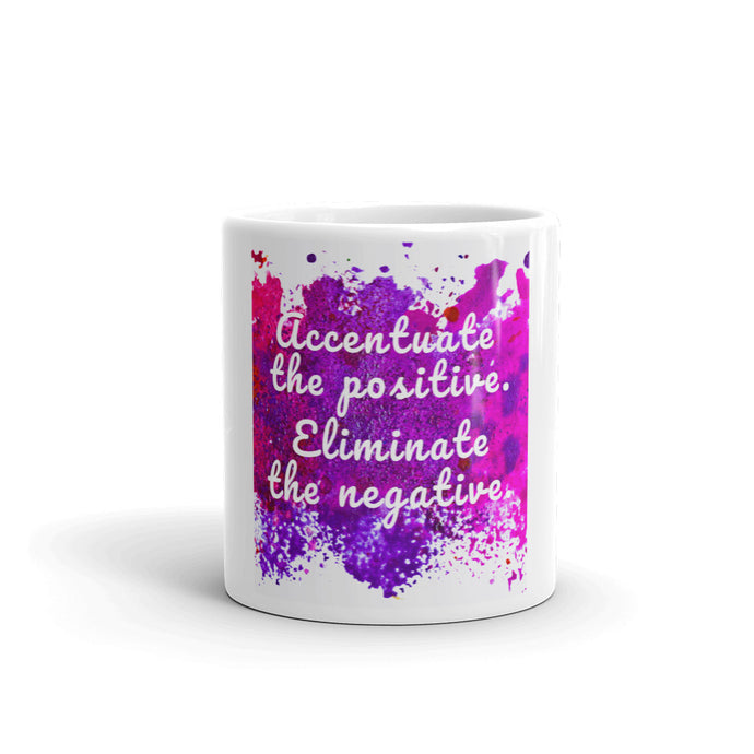 inspirational coffee mug with quote