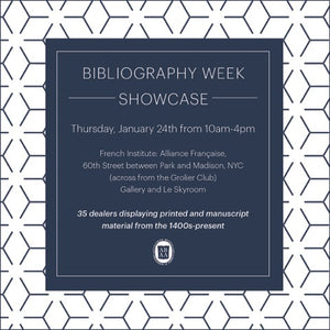 Bibliography week showcase