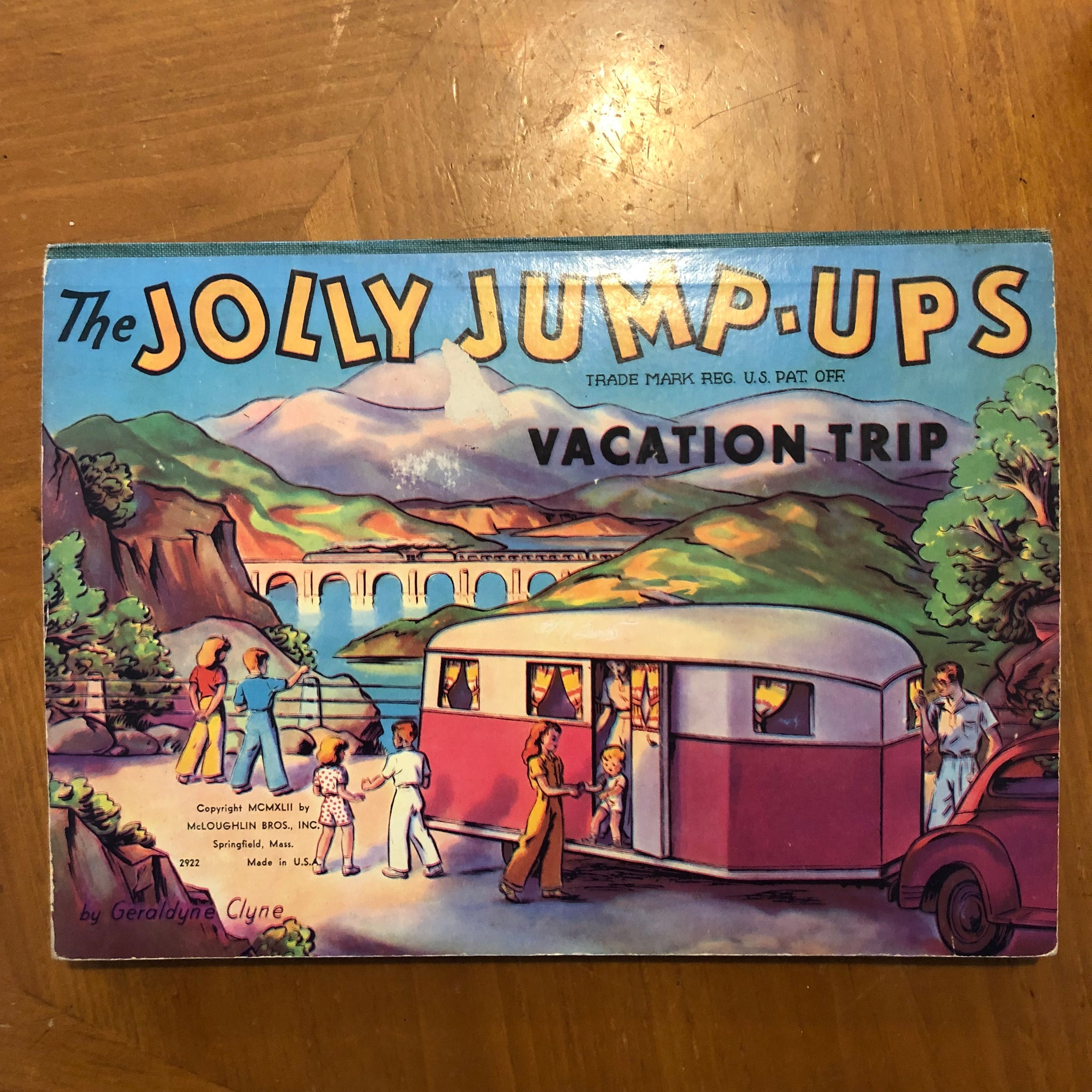 Pop-up book: The Jolly Jump-ups Vacation Trip