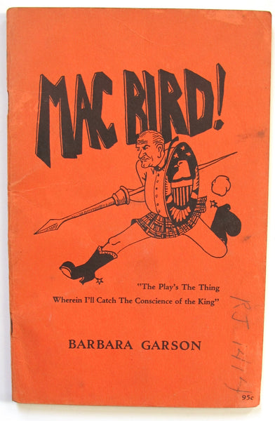 MacBird! A Satire on the Kennedy Administration
