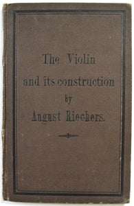 The Violin and its construction