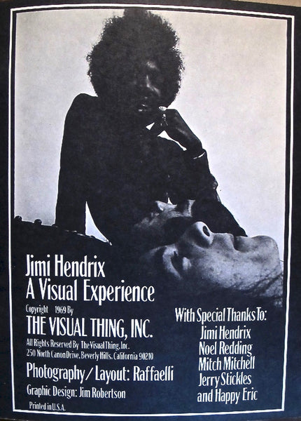 JImi Hendrix. Electric Church. A Visual Experience.